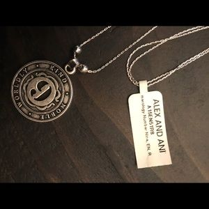 Alex and Ani Numerology Number 9 Charm Necklace